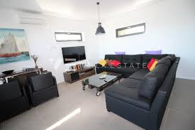 sea view living room modern villa on a great location with sea view vala estate
