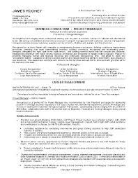 business resume format free business consultant and project manager resume sle free format