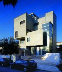 cement homes plans concrete home designs in narrow slot images