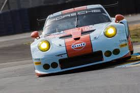 gulf racing porsche pictures of race cars taken part at famous 24 hours le