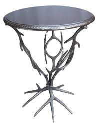 jadu accents metal tree branch accent table furniture
