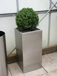 outdoor stainless steel planters outdoor designs