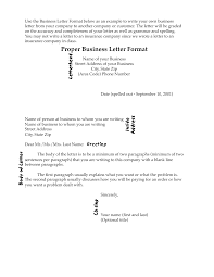 how to write a proper business letter format letter idea 2018