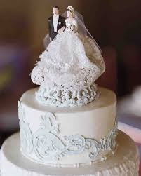 individual wedding cakes best cake toppers martha stewart weddings regarding individual