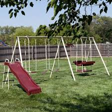 Backyard Swing Set Ideas by 37 Best Outdoor Items Images On Pinterest Outdoor Toys Backyard