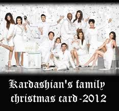 sensational 2012 kardashian family christmas card absolved