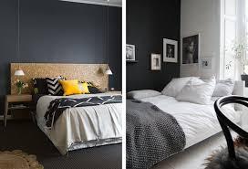 chambre noir gris best chambre adulte mur noir pictures design trends 2017