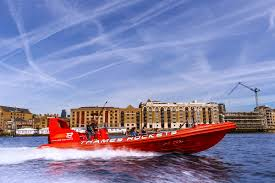 thames barrier restaurant barrier rocket speed boat voyage for two