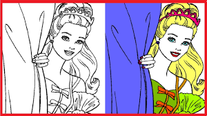 barbie coloring books and pages for kids disney coloring book