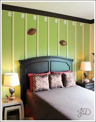 Amazing Boy Bedrooms To Inspire You Football Field - Football bedroom designs