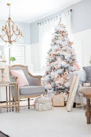 blush and copper christmas tree craftberry bush mondays
