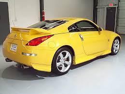nissan 350z a vendre 350z jaune