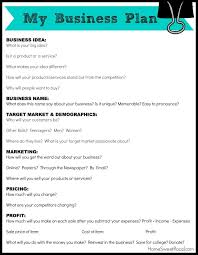 easy small business plan template 25 best writing a business plan