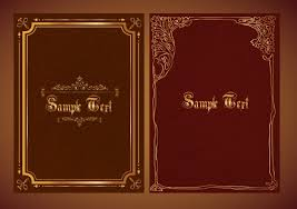 document decorative templates classical decoration dark leather