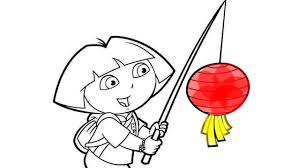 dora coloring book pages dora the explorer in china world adventure coloring book pages