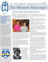 lexus scholar athlete richmond saint mary u0027s catholic monarch messenger fall 2016 by jjanus