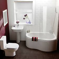 Contemporary Small Bathroom Ideas by Bathroom 2017 White Brick Wall Tile In Modern Bathroom Espresso