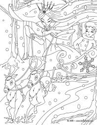 snow fairy coloring kids drawing coloring pages marisa