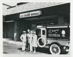 Vintage Ford Ice Cream Truck - people posing in front of a dreyer u0027s ice cream truck flickr