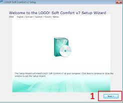 Soft Comfort Cách Cài đặt Phần Mềm Logo Soft Comfort V8 1 Logo Plc Q Thang