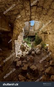 old abandoned tunnel underground wine cellar stock photo 680284228