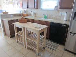 How To Build A Simple Kitchen Island Simple Portable Kitchen Island With Storage And Seating