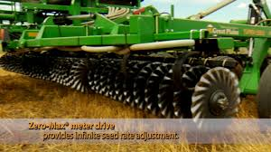 Great Plains Planter by Great Plains Turbo Seeder Attachment Youtube