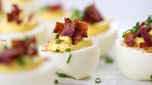 s heavenly deviled eggs recipe egg easter appetizers and