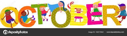 imagenes feliz octubre feliz octubre niños título texto fotos de stock prawny 162213542