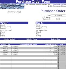 Free Excel Purchase Order Template Purchase Order Template With Autoinvoice Tool Free And