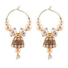 handmade designer jewellery earrings handmade designer traditional jaipuri jhumki jhumka