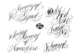 fantastic lettering tattoo designs tattooshunter com