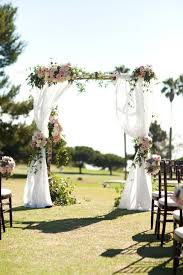 wedding arbor used 10 floral arches for your wedding ceremony mywedding