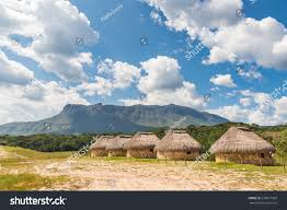 Table Top Mountain by Sororopan Tepuy Table Top Mountain Indigenous Stock Photo