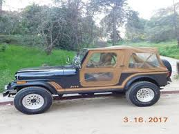 1980s jeep wrangler for sale jeep cj 7 for sale carsforsale com
