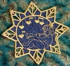 131 best machine embroidery ornaments and decorations