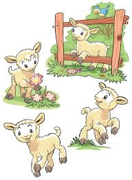funberry farm wall stickers geo parkin funtosee funberry lambsx4