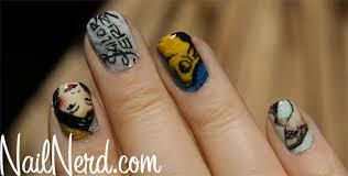 nail nerd nail art for nerds sailor jerry tattoo nails