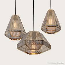 Indoor Lantern Pendant Light by Discount Tom Dixon Pyramid Etch Pendant Lamp Suspension Light