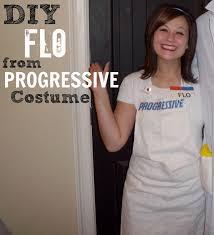 diy halloween costume progressive insurance flo halloween
