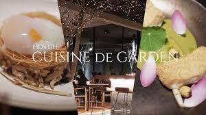 cuisines de mds cuisine de garden ร านอาหารท ท กจานได แรงบ นดาลใจจาก