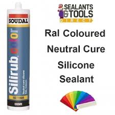 color or colour soudal color ral colour coloured silicone sealant