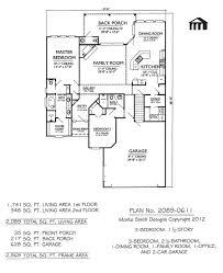 apartments 3 bed 1 bath house plans bedroom bath house plan