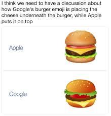 Burger Memes - burger emoji debate know your meme