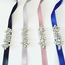 Flower Belts - bridesmaids belt bridal belt flower sash simple bridal