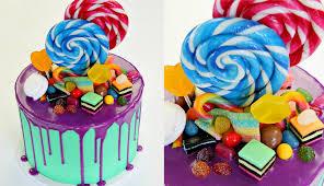 candyland birthday cake candyland drip birthday cake cake style
