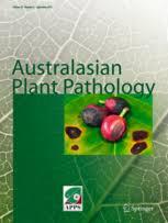 Plant Disease Journal - australasian plant pathology u2013 incl option to publish open access