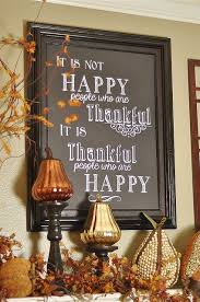 thanksgiving decor giveaways and a housekeeping happy