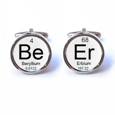 Beer Periodic Table Beer Periodic Table Cufflinks