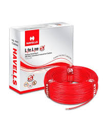 Buy Havells PVC Insulated Single Core Cables 1 5MM Red line at Low